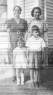 1940 L-R Mary Cunha Rogers, Mary Rogers Collins, Elizabeth Collins age 4, Ed Collins Jr. age 7