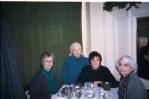 French Quarter-Galatoire's Restaurant L-R Dorothy-Cecile-Denise-Cecile N McCann